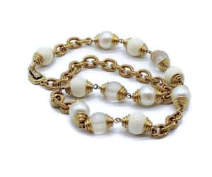 chain necklace, cable chain, and office jewelry image