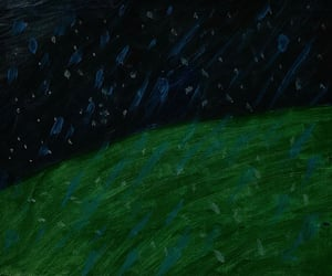dark, green, and paint image