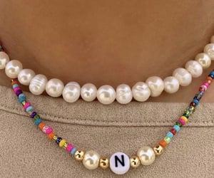 verano, accesorios, and perlas image
