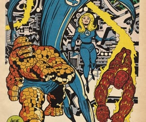 Jack Kirby, Marvel, and invisible girl image