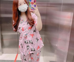 girl group, korean, and pajamas image