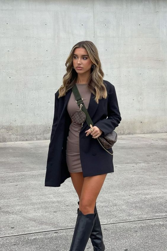 boots, chic, and clothes image