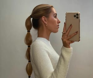 accessories, blonde hair, and earrings image