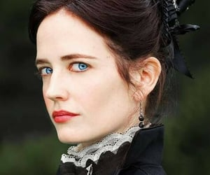 actress, face, and gothic image