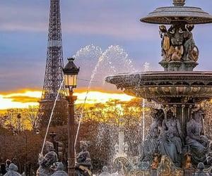 france, paris, and place de la concorde image