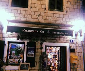 bookshop, Montenegro, and postcards image