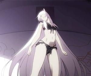anime girl long hair image