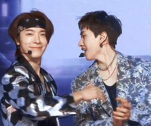 donghae, Leeteuk, and super junior image