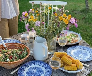 food, dreamy, and garden image