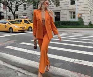 aesthetic, mode, and orange image
