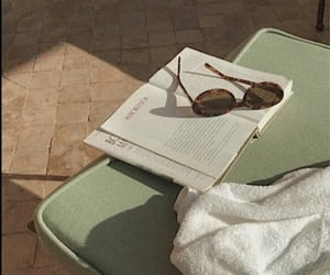 aesthetic, green, and sunglasses image