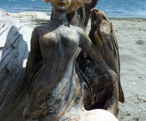 allegory, beach, and sirena image