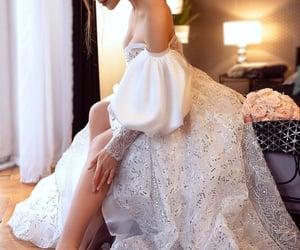 fashion, style, and white dress image