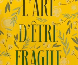 book, fragile, and french image