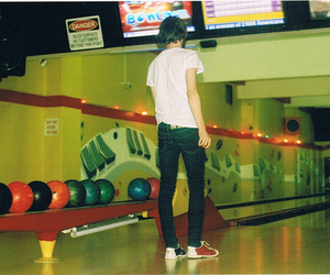 bowling and boy image