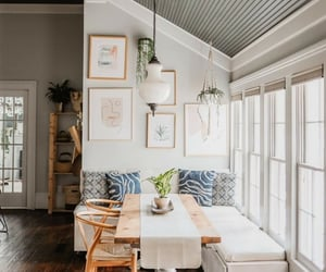 colors, comfy, and dining room image