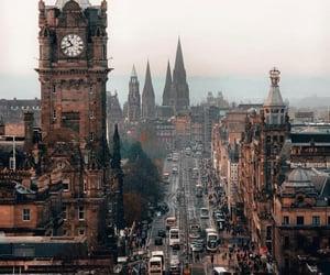 city, edinburgh, and scotland image