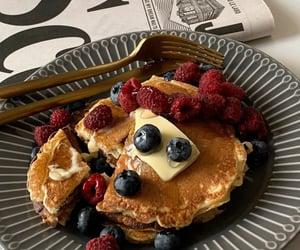 aesthetic, breakfast, and cake image