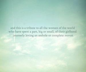 quote, woman, and moron image