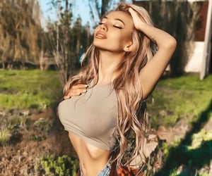 blonde, blondie, and camo image