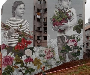 arte, belleza, and graffiti image