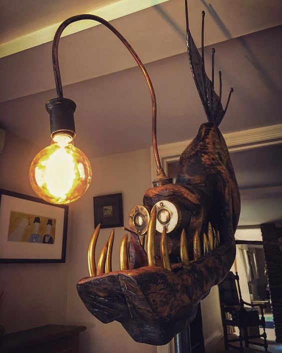 funny, funny pictures, and funny lamp image
