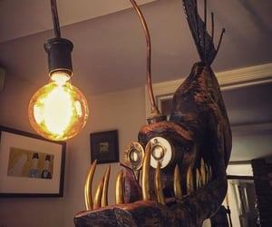 funny pictures, funny, and funny lamp image