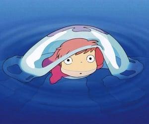 ghibli, ponyo, and Hayao Miyazaki image