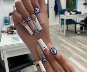 evil eye and nails image