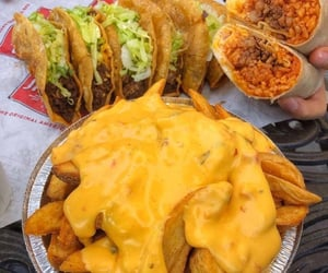 beef, lettuce, and mexican food image