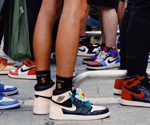 fashion, ⓝⓘⓚⓔⓢ, and shoes image