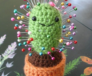cactus, funny, and pins image