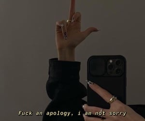 aesthetic, apology, and black image