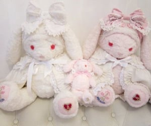 aesthetic, lace, and plush image
