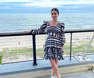 actress, beach, and lea michele image