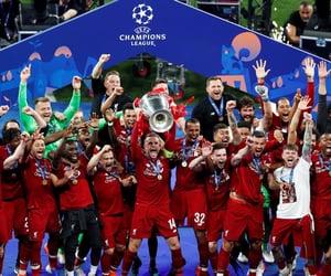 football, winners, and Liverpool image