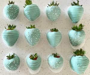 chocolate, strawberries, and baby shower image
