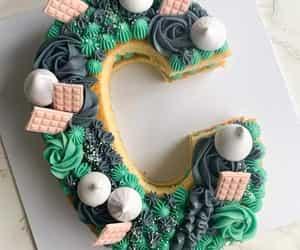 birthday cake, cakes, and edible art image
