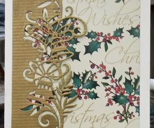 christmas card, card for sale, and etsy image