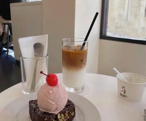 amo, chocolate cake, and ice cream cake image