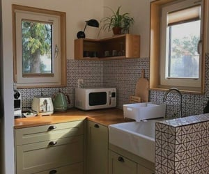 home, home decor, and kitchen image