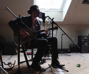 attic, guitar, and hozier image