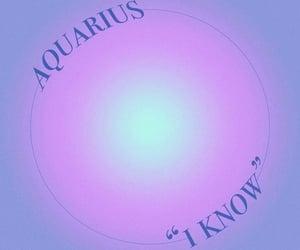 aquarius, zodiacs, and blue image