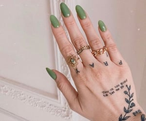 aesthetic, jewelry, and ongles image