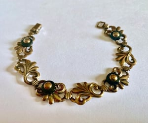 art deco, sterling silver, and small wrist image