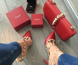 fashion, red, and cartier image