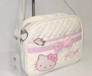 bags, handbag, and hello kitty image