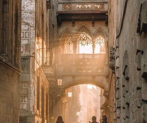 bridge, catalonia, and light image