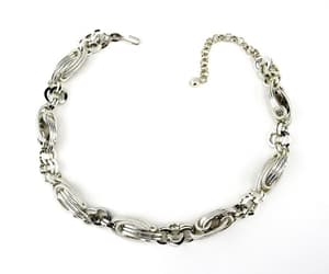 vintage fashion, vintage necklace, and 18 inch image