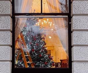 aesthetic, christmas tree, and home image
